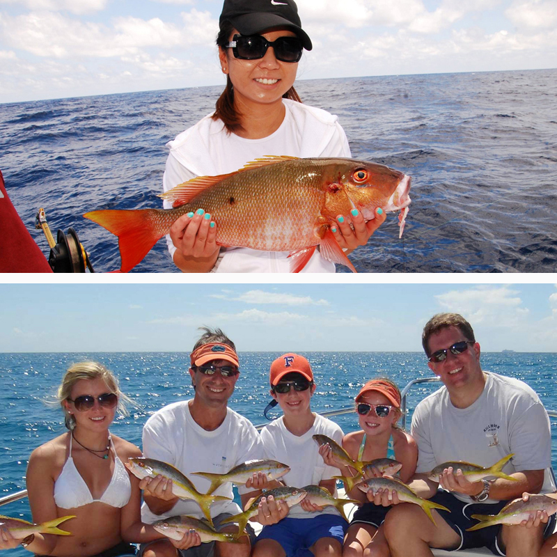 Cancun share fishing trip for Cancun fishing trips